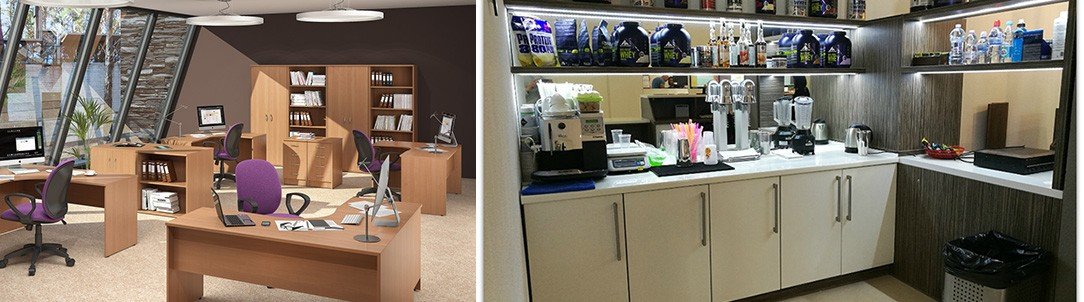 09 5 - Корпусная мебель для офиса, парикмахерской, учреждений.