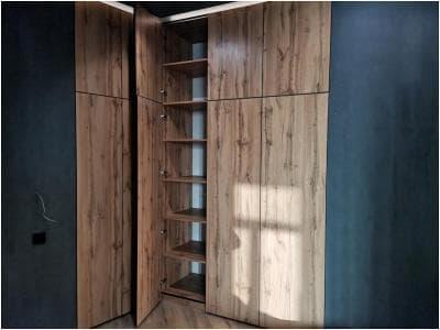 Шкаф распашной в стиле лофт т. 904522